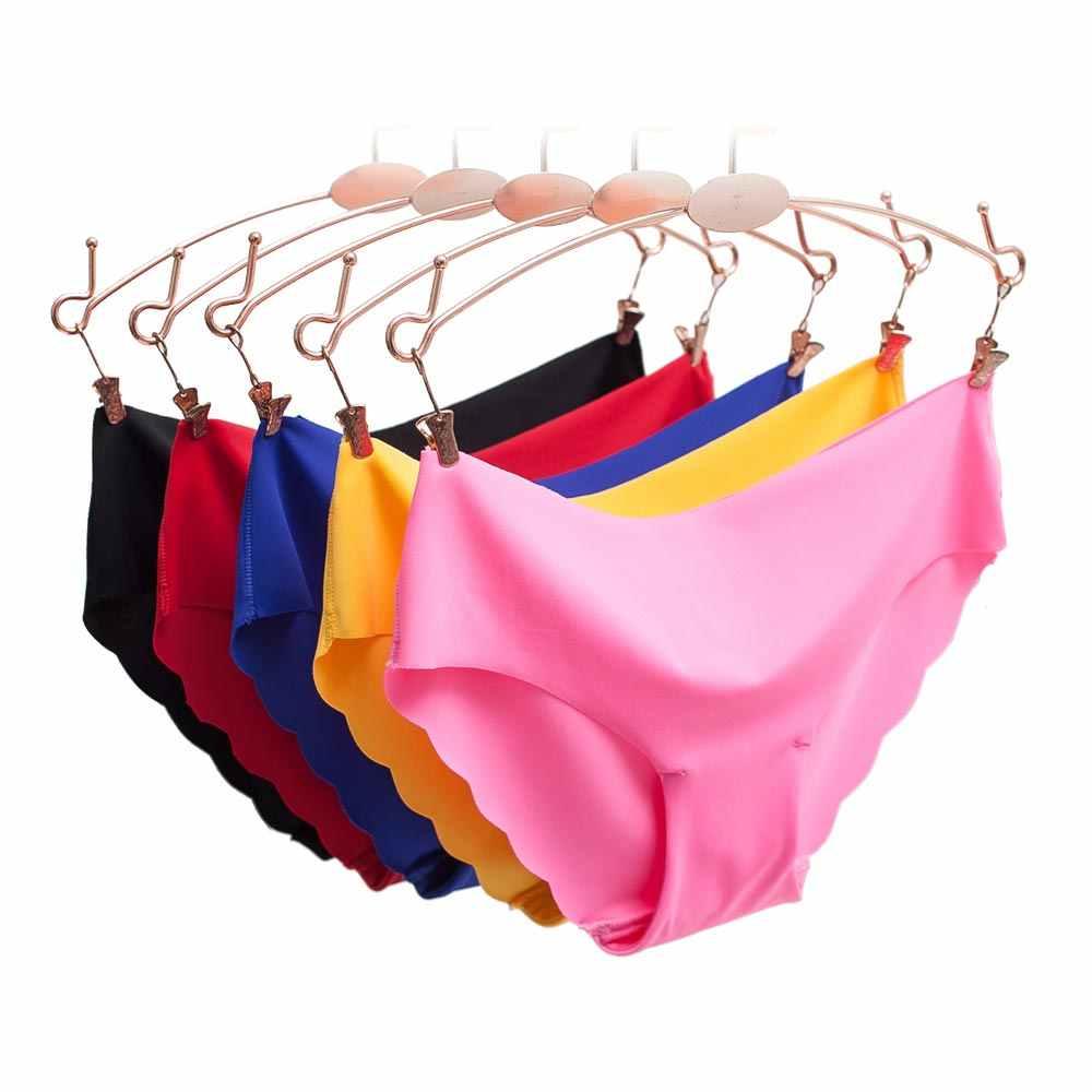 กางเกงผู้หญิงชุดชั้นในบางเหนียวชุดชั้นในสำหรับสตรี Comfort low-Rise Ruffles ชุดชั้นในเซ็กซี่ฤดูร้อนใหม่ร้อน