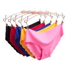 Vrouwen Slipje Ondergoed Ultra Dunne Viscose Naadloze Slips Voor Vrouwen Comfort Laagbouw Ruches Sexy Lingerie Zomer nieuwe Hot