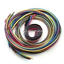 J34 OOTDTY Heat Shrink Tubing 11 tamaños 6 Colores Tube Manguitos Paquete, 55 M/Set
