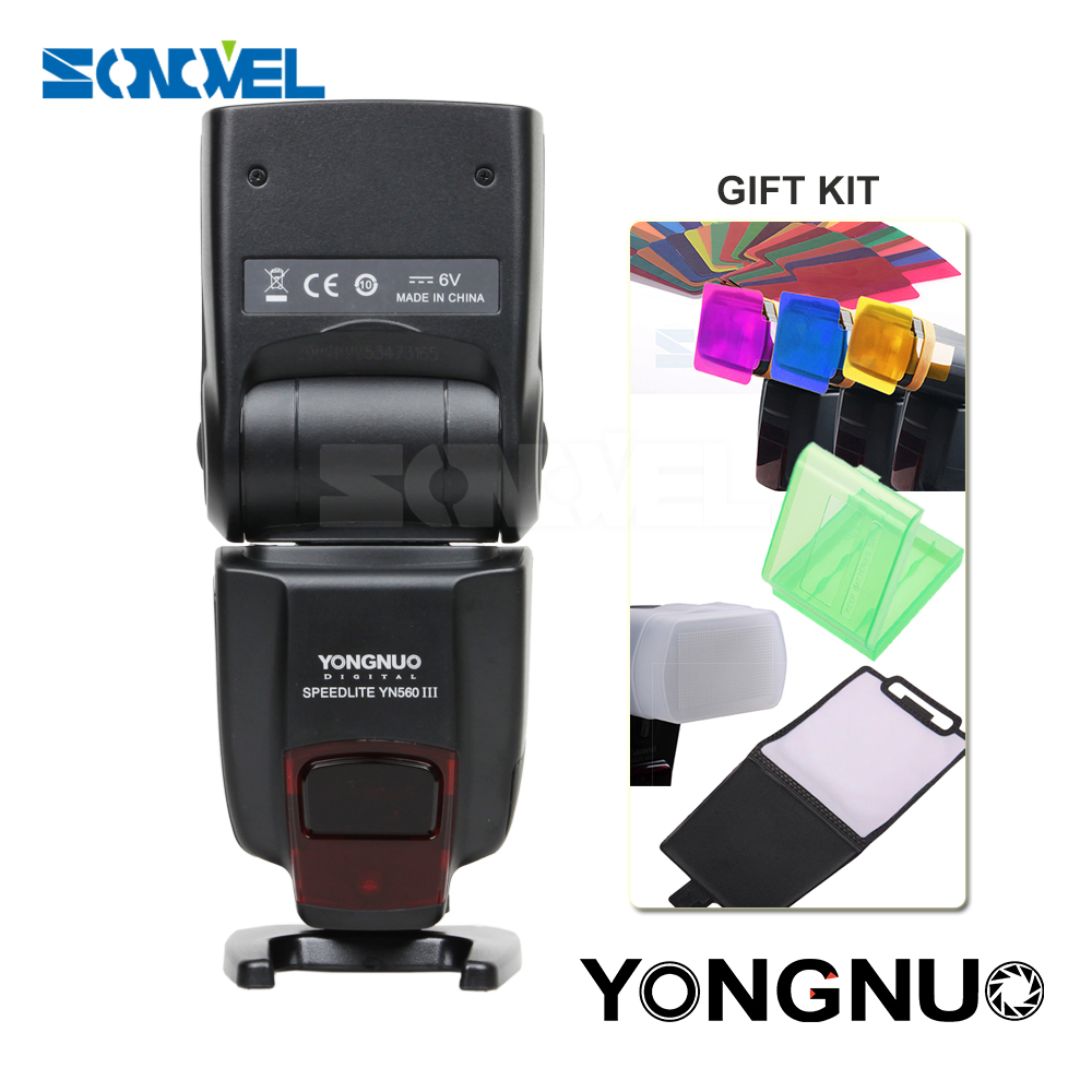 Yongnuo YN-560III YN560III Professional Flash Speedlight Flashlight Yongnuo YN 560 III for Canon Nikon Pentax Olympus Camera 2000 lumen 5 modes cree xml t6 led tactical lantern torch flashlight zoomable focus led hunting lamps 18650 rechargeable battery
