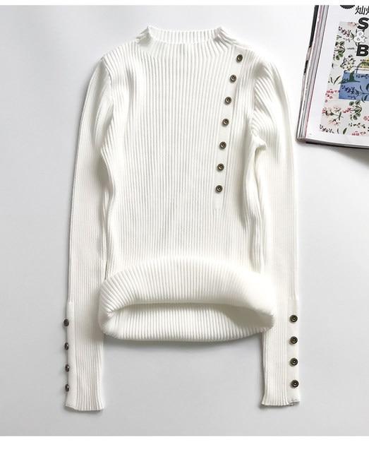 Women Sweater Turtleneck Sweaters Women Korean Fashion Woman Knitted Sweater Women Sweaters and Pullovers Winter Clothes Women 38