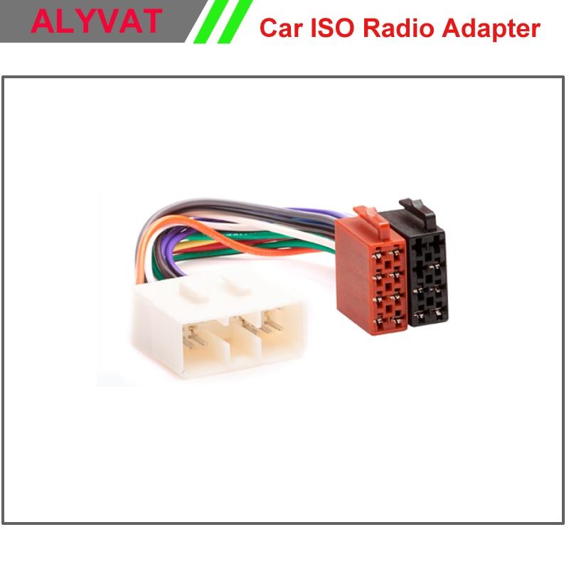 Car ISO Wiring Harness Auto Radio Adaptor Cable Plug Adapter Connector For Subaru Forester Impreza Vivio Legacy Outback