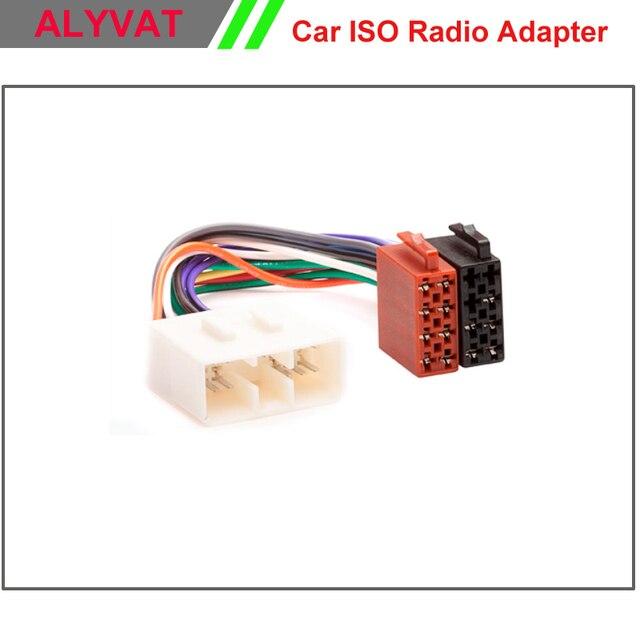 Car ISO Wiring Harness Auto Radio Adaptor Cable Plug Adapter ...