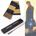 Fantastic Beasts and Where to Find Them Cosplay Scarf  Newt Scamander magic wand costume accessary