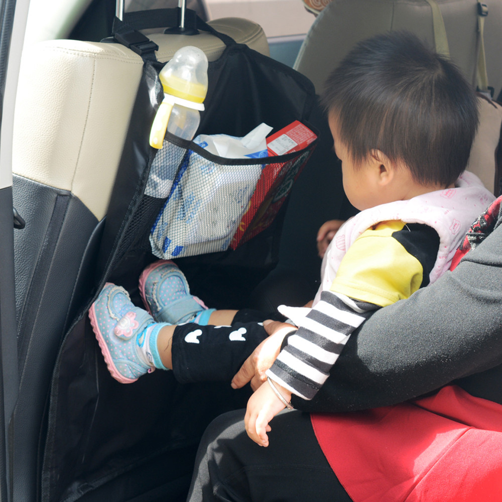 MUQGEW hot selling fashion New Car Auto Seat Protector Cover For Children Kick Mat Mud Clean very nice Vicky
