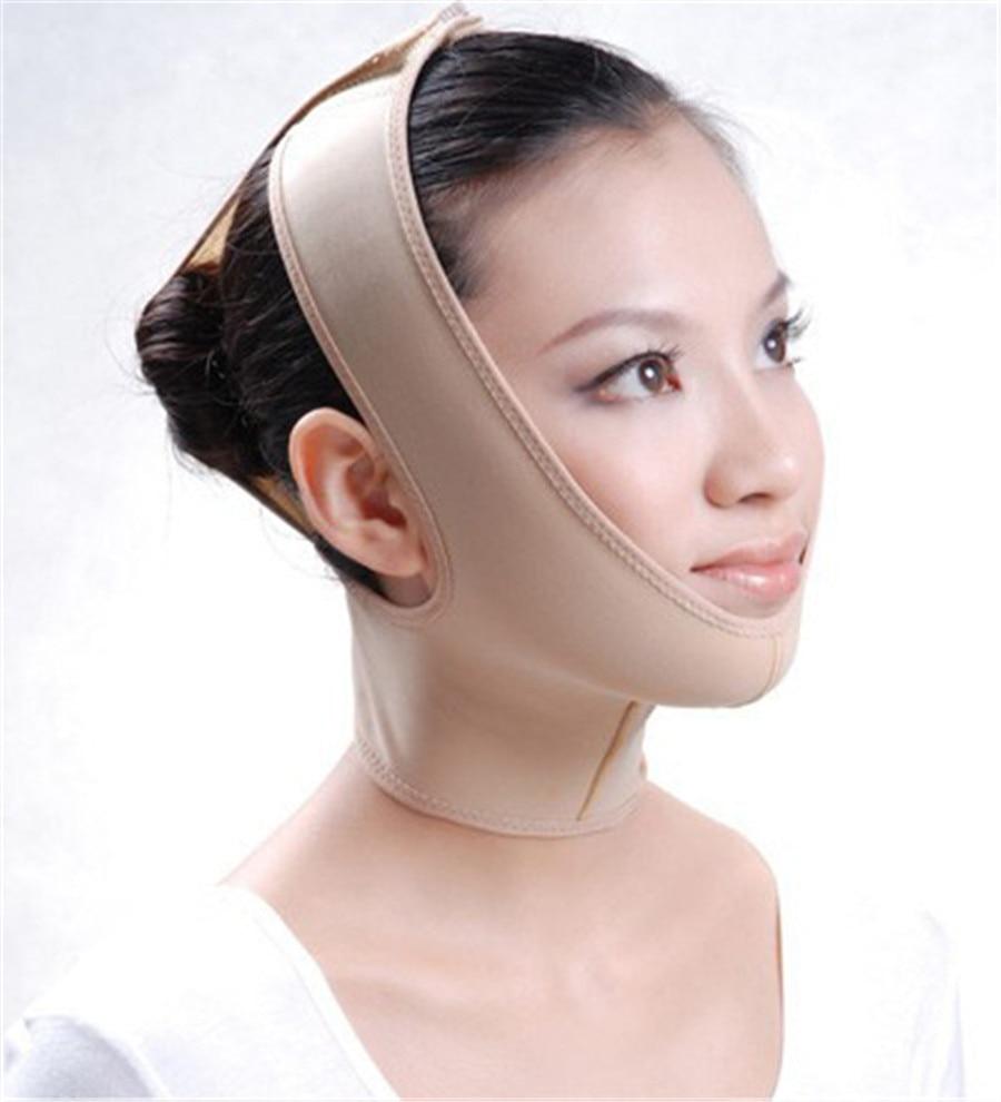 Face V Shaper Ansiktsbantning Bandage Avslappning Ansiktslyftning - Munhygien