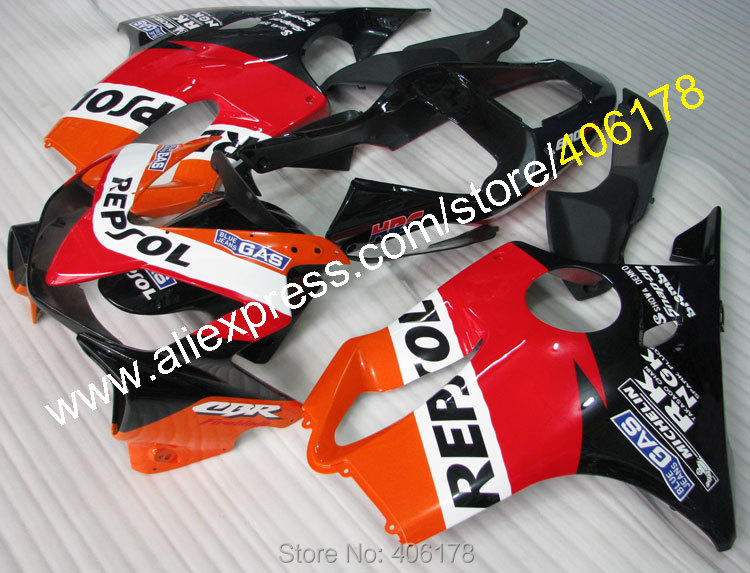 Hot Sales,For Honda CBR600 F4i CBR 600F4i 2001 2002 2003 CBR 600 F4i 01 02 03 CBR Repsol F4i Fairings (Injection molding) hot sales for honda vtr1000f 97 05 1997 1999 2000 2001 2002 2003 2004 2005 vtr1000 f vtr 1000 f 1000f full red fairings
