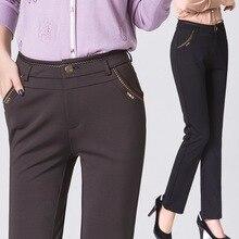 Women Pants 2016 Spring Summer Autumn Excellent Quality Elegant Fashion Ladies Pencil Work Pants Women Trousers Pantalon Femme