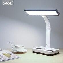 цена на YAGE 1400mAh Battery White-Warm-Nature Light Led Table Lamp Desk Lamp Stepless Dimming Knod Desk Light Hose Table Lamp 2018 New