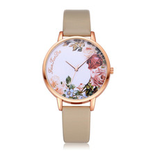 luxury FanTeeDa watch women leather women female slim watches