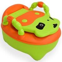 Reizende kuh ABS baby urinal kinder kinder wc töpfchen sitz stuhl für kinder ausbildung freies verschiffen 1 teil/satz
