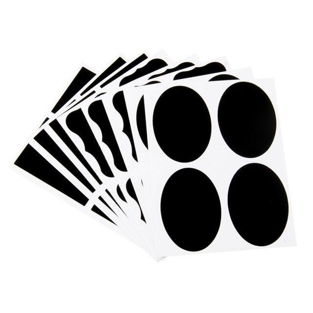 36pcs Free shipping 3 Designs 24pcs/lot Vinyl Chalkboard Label