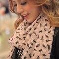 2015 Новая Мода Модный Чешские женские Длинный Шарф Мягкая Wrap Дамы Шаль Милые Девушки Большие Красивые Шифоновый Шарф