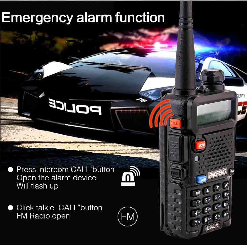 2Pcs BaoFeng UV-5R Walkie Talkie VHFUHF136-174Mhz&400-520Mhz Dual Band Two way radio Baofeng uv 5r Portable Walkie talkie uv5r (7)