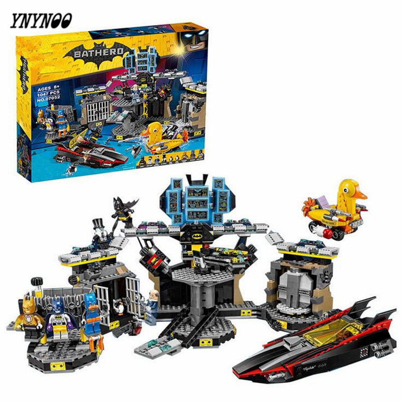 YNYNOO Lepin Batman 07052 Genuine Movie Series Compatible with Lepin BATMAN 70909 Batcave Break-in Building Blocks Bricks Toys hc9009 1650pcs pikachu cartoon movie series without original box building blocks diamond bricks toys compatible with loz