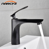 Basin Faucets White With Gold Bathroom Faucet Hot and Cold Water Basin Mixer Tap Chrome Finish Brass Toilet Sink Water Taps B581