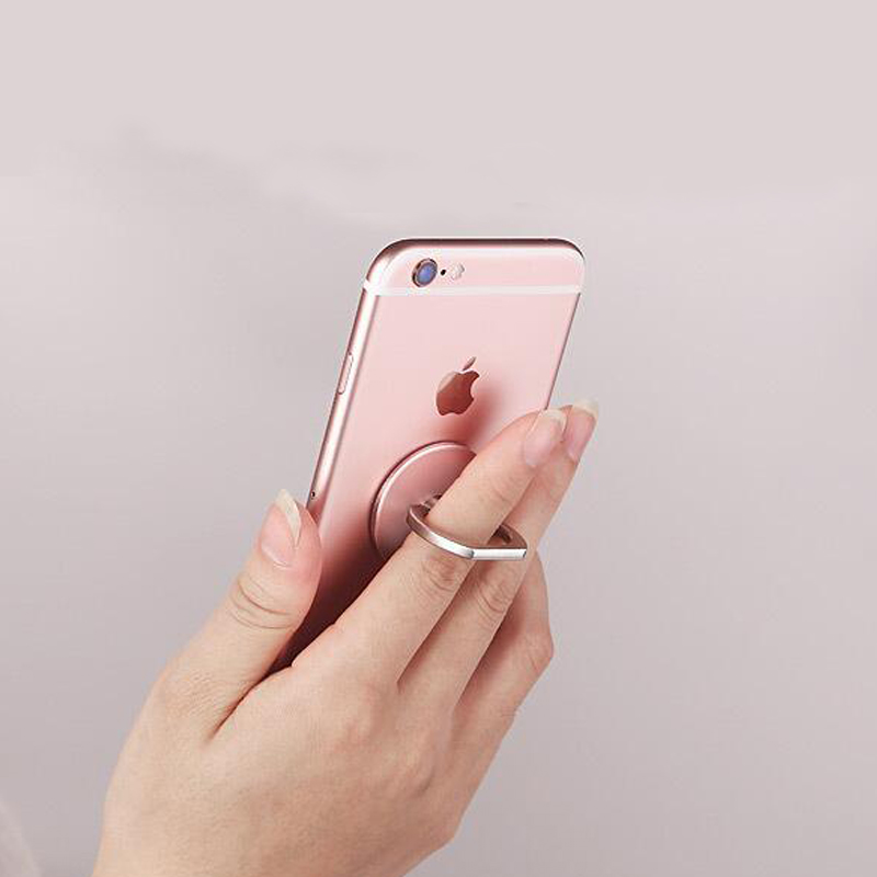 360 dərəcəlik Dəyirmi barmaq üzüklü Cib telefonu Smartphone, - Cib telefonu aksesuarları və hissələri - Fotoqrafiya 3