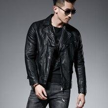 Культивировать мораль человек Наклонный молнии break код Распродажа для мужчин кожаная мотоциклетная куртка мыть ПУ J9089 P100 одежда