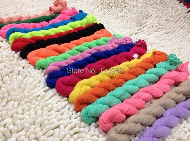 2017 Neue Heiße Freies Verschiffen! Mode Schal 20 Farben Kinder Baumwolle Voile Schal Mädchen/jungen Falten Schals