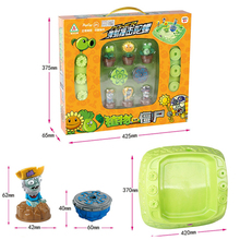 NEW  Plants V.S. Zombies Burst fusion toupie bayblade burst with launcher Bucket plate toy kids gift