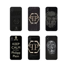 2203370e0e Mobile Phone Shell Cover Luxury Japan PHILIPP PLEIN skull For Samsung  Galaxy S4 S5 MINI S6