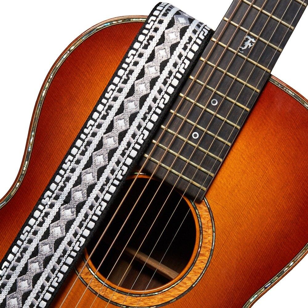 buy amumu jacquard ribbon guitar strap traditional weaving patterns for. Black Bedroom Furniture Sets. Home Design Ideas