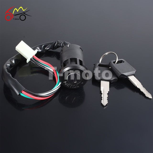 US $5 72 27% OFF|Universal Motorcycle Ignition Switch Key For Motorcycle  Dirt Bike Pocket Bikes Go Karts ATVs-in Motorcycle Switches from  Automobiles