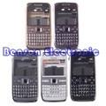 Para nokia e72 case cubierta del teléfono nuevo de alta calidad de piezas de repuesto con teclado + botones
