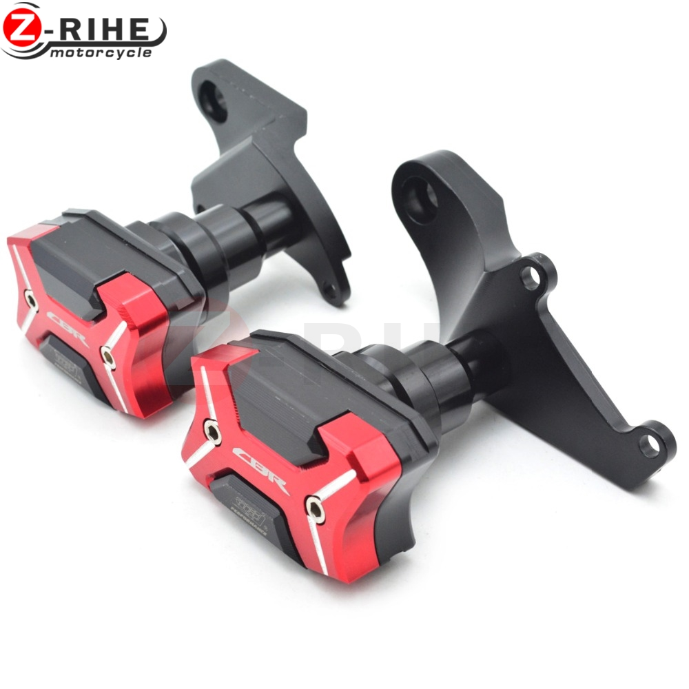 For Honda CBR500R 2013-2016 Motorcycle accessories CNC motorcycle Engine Cover Frame Sliders Crash Protector For Honda CBR500R