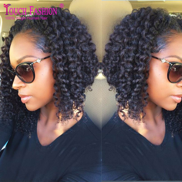 2017 New Arrival Virgin Peruvian Human Hair Sexy Curly Bob