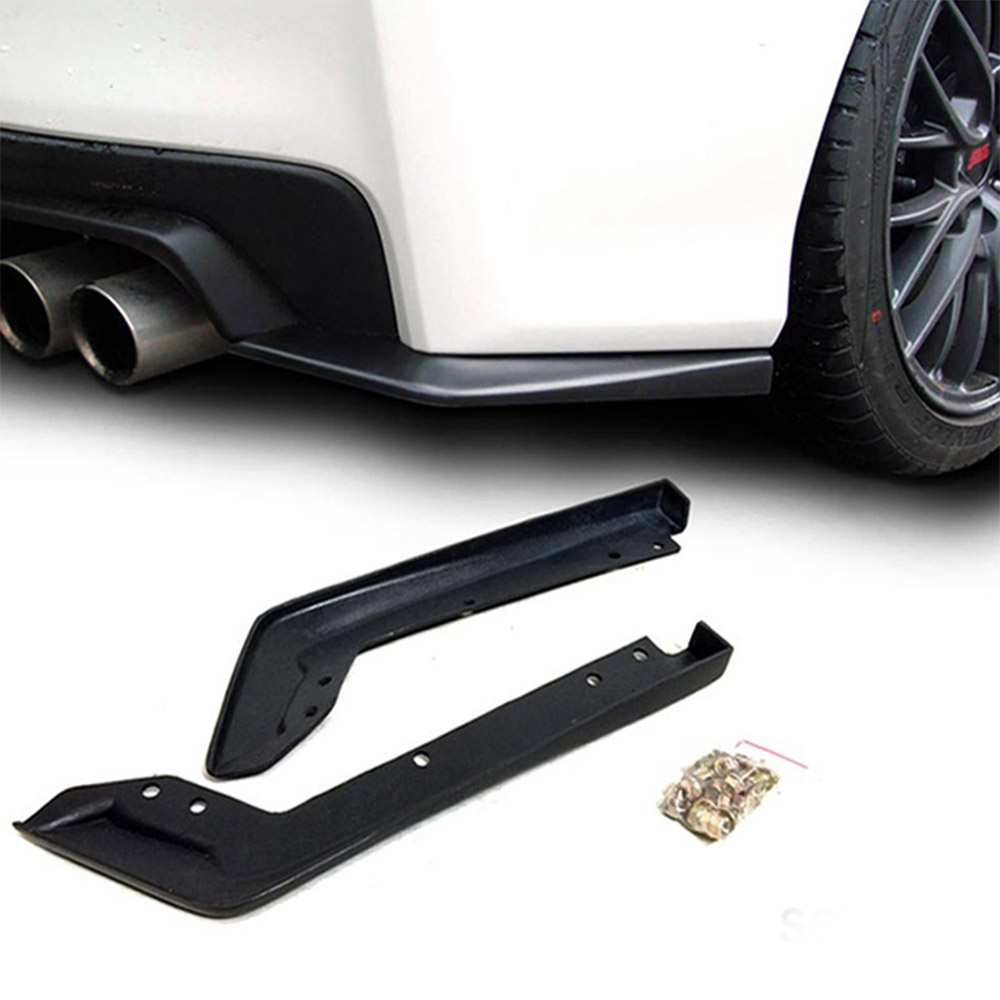 Rear Bumper Lip Spoiler Cap Splitter for 2015-2016 Subaru Impreza WRX Sti Car Exterior Parts