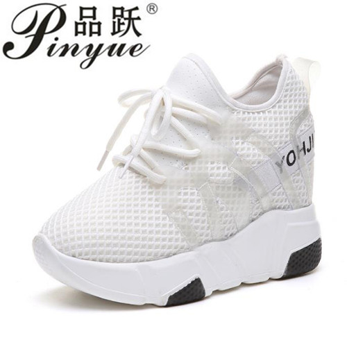 Summer fashion brand women casual shoes mesh Breathable platform lady shoes Trainers white tenis feminino casual chaussure femme mwy women breathable casual shoes new women s soft soles flat shoes fashion air mesh summer shoes female tenis feminino sneakers