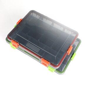 Image 2 - مقصورات مقاوم للماء صيد السمك صندوق تخزين متعددة الوظائف صديقة للبيئة البلاستيك الصيد إغراء معالجة الجيب الطعم صناديق