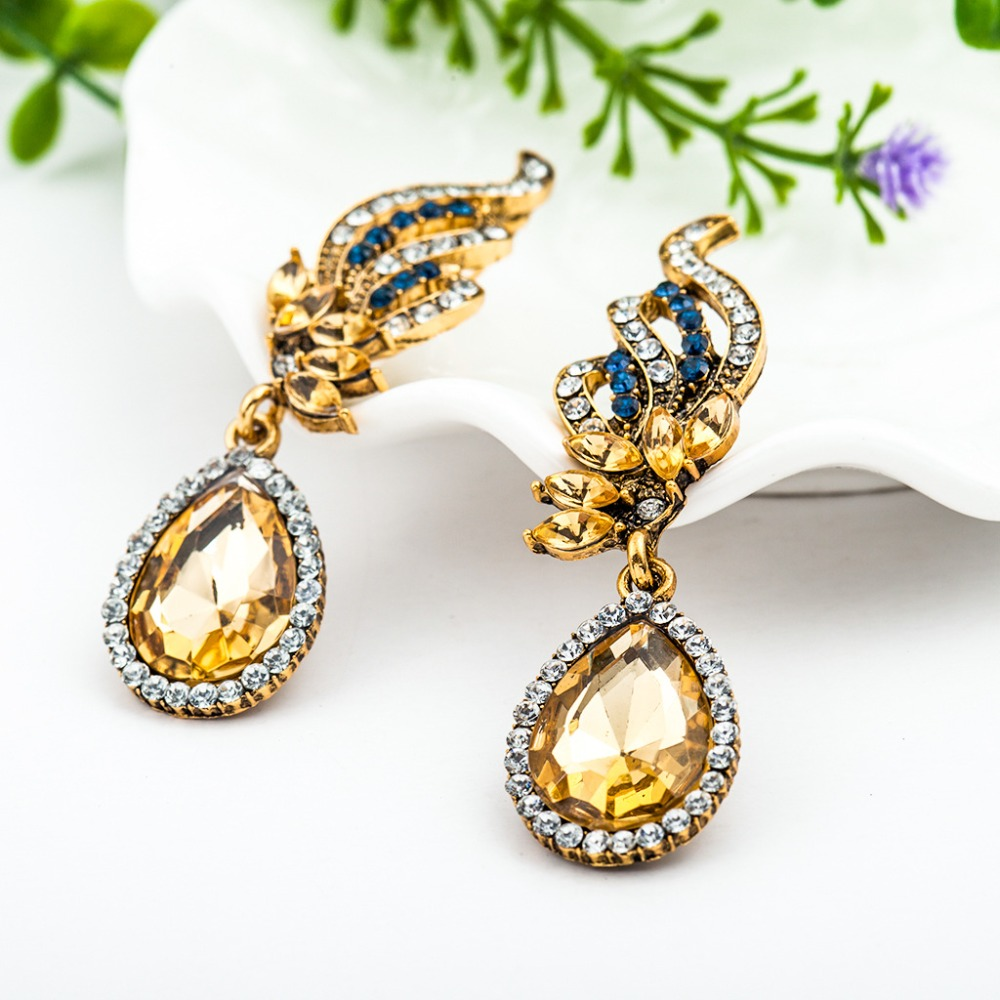 for trendy mermaid druzy product handmade fashion pattern stud gold scale earrings fish best
