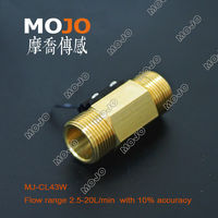 Free Shipping MJ CL43W 5 Pieces 3 4 Magnetic Type Copper Outside Treads Water Flow Switch