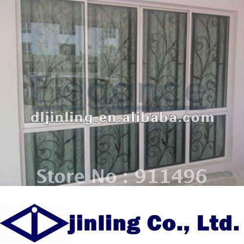 Balcony Casement Window Window Grill Design Aluminium Window Grill Design