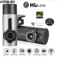Mini WiFi Auto DVR 1080 P FHD Nachtzicht Dash Cam Video Recorder Draaibaar Lens Auto Camera Draadloze Snapshot Auto Camcorder