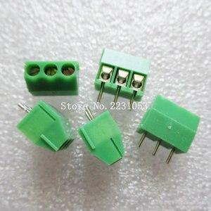 Клеммы, 20 шт./лот, KF350-3.5-3P, 300 В, 10 А, винтовой 3-контактный разъем 3,5 мм, прямой штырь, клеммный блок, разъем 24-18A WG