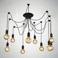 Винтажный подвесной светильник в стиле скандинавского паука  несколько регулируемых подвесных светильников в стиле ретро  классический де...