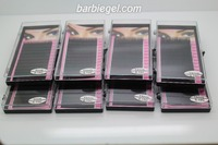 8 Cases Lot C Curve 8 9 10 11 12 13 14 15mm Silk Eyelash Extension