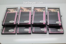 8 cases/Lot C Curve 8/9/10/11/12/13/14/15mm Silk Eyelash Extension Artificial eyelash Fake False Eye Lash Eyelashes