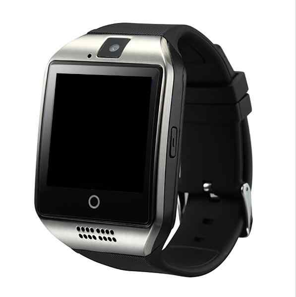Naiku q18ブルートゥーススマート腕時計レロジオandroidスマートウォッチ電話コールsim tfカメラ用ios iphoneサムスンhuawei社vs a1 dz09