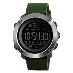 Image 2 - Skmei Fashion Bluetooth Smart Men Watches Calorie Digital Sports Pedometer LED Watch Call Reminder Waterproof Wristwatch Zegarki