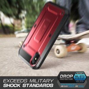 Image 5 - Voor Iphone X Xs Supcase Case Ub Pro Serie Full Body Robuuste Holster Clip Case Met Ingebouwde Screen Protector voor Iphone X Xs