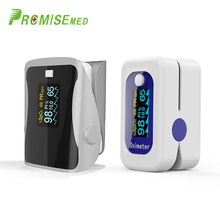 PR+MISE  M160blue+F9Sgray Household Health Monitors Finger Pulse Oximeter ABS Silicone Sensor Equipment Pulsioximetro