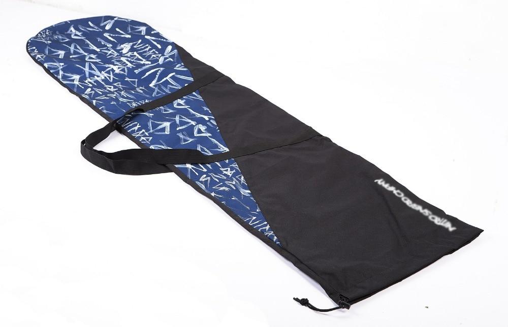 ФОТО Winter Snow Skiing Board Bag Veneer Waterproof Carry Bag Light Weight Portable Foldable 161x42cm  63x16.5