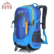 Fühlen pioneer rucksack hochwertigem nylon 35l herren wasserdichte reisen bergsteigen taschen freizeit frauen rucksack 7 farben