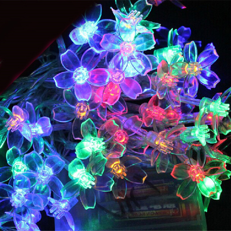 Tanbaby 5M 50 Plum Fairy Tale Tail Lights Christmas Party Fairy Lights Battery Powered Wedding Festival Interior Decorating Part