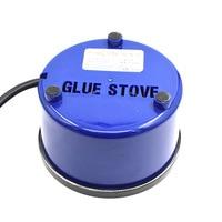 Professional Hot Pot/Glue Stove Melting Keratin Glue Beads Constant High Temp Control for Fusion Hair Extension Repair Tools