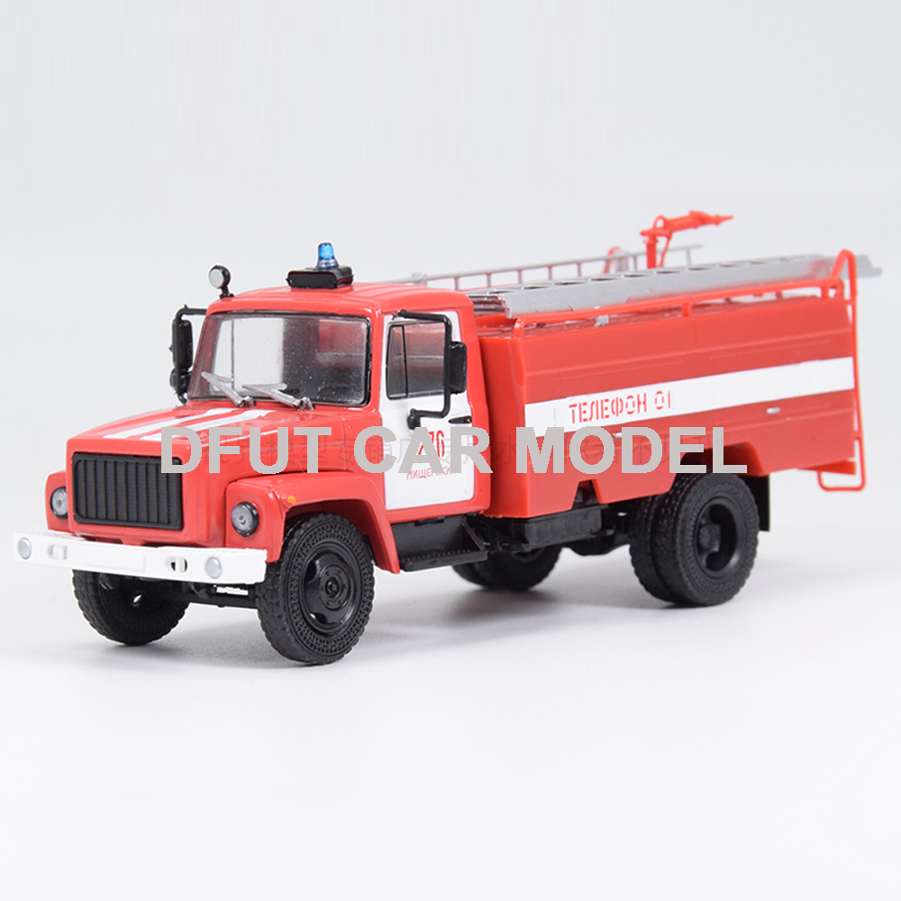 1:43 alloy toy car model Russian fire engine children toy car original authorized authentic children toy gifts